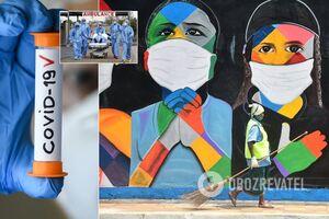 Коронавирус в Украине и мире
