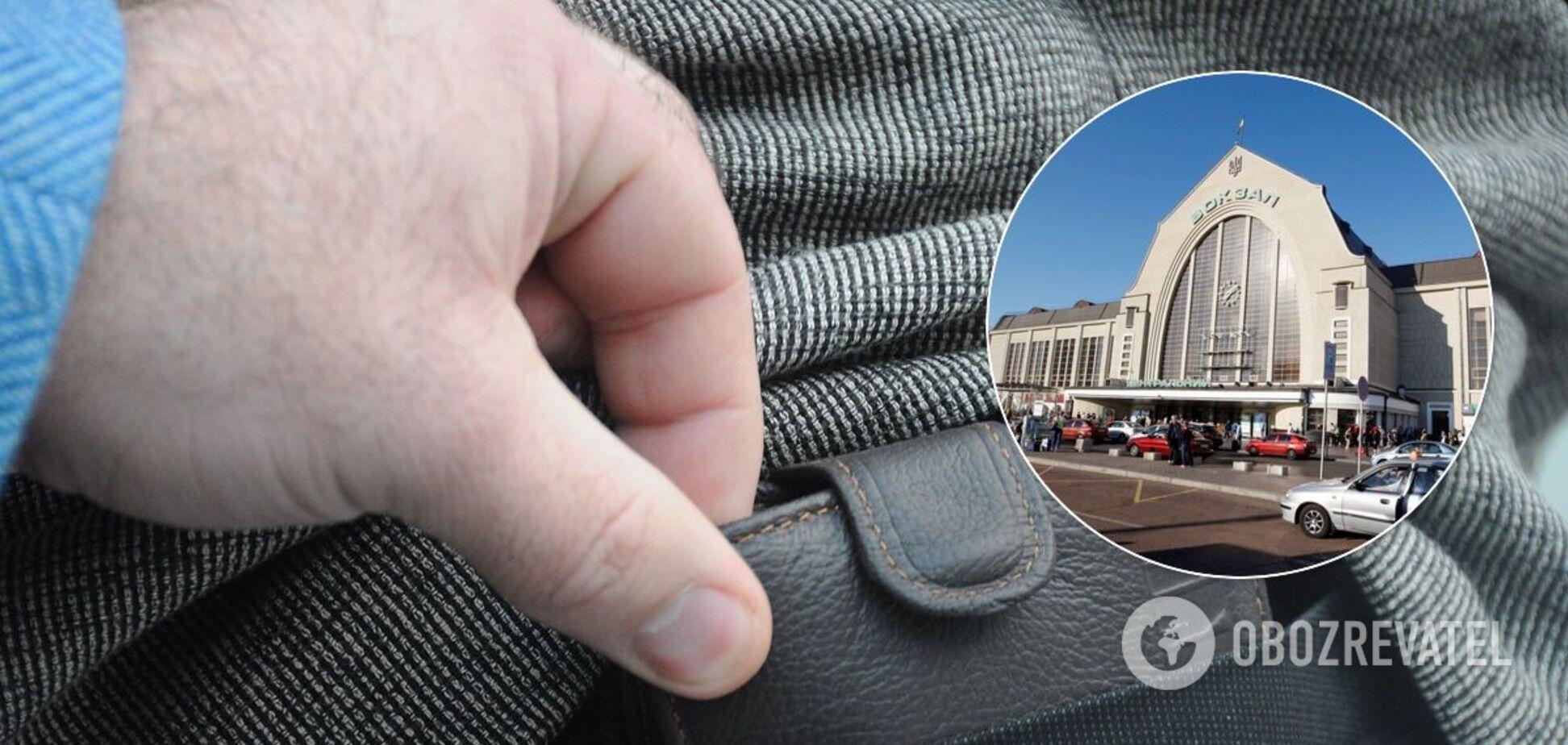 Где в Киеве можно стать жертвой карманников: в МВД назвали опасные места