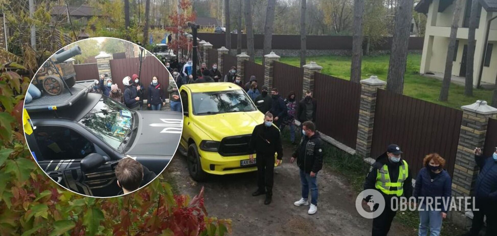 Автопробіг організували Центр протидії корупції та Автомайдан
