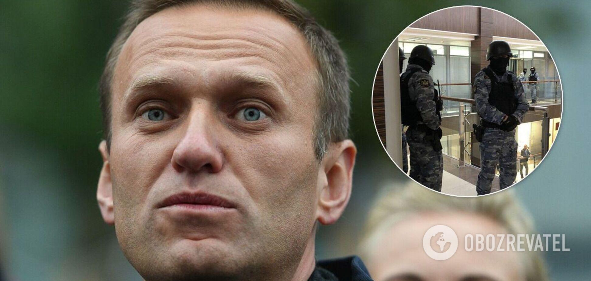 Опозиціонер Олексій Навальний