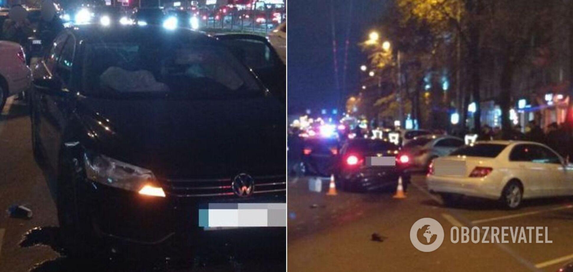 Водій був неадекватний: очевидці повідомили подробиці ДТП у Харкові
