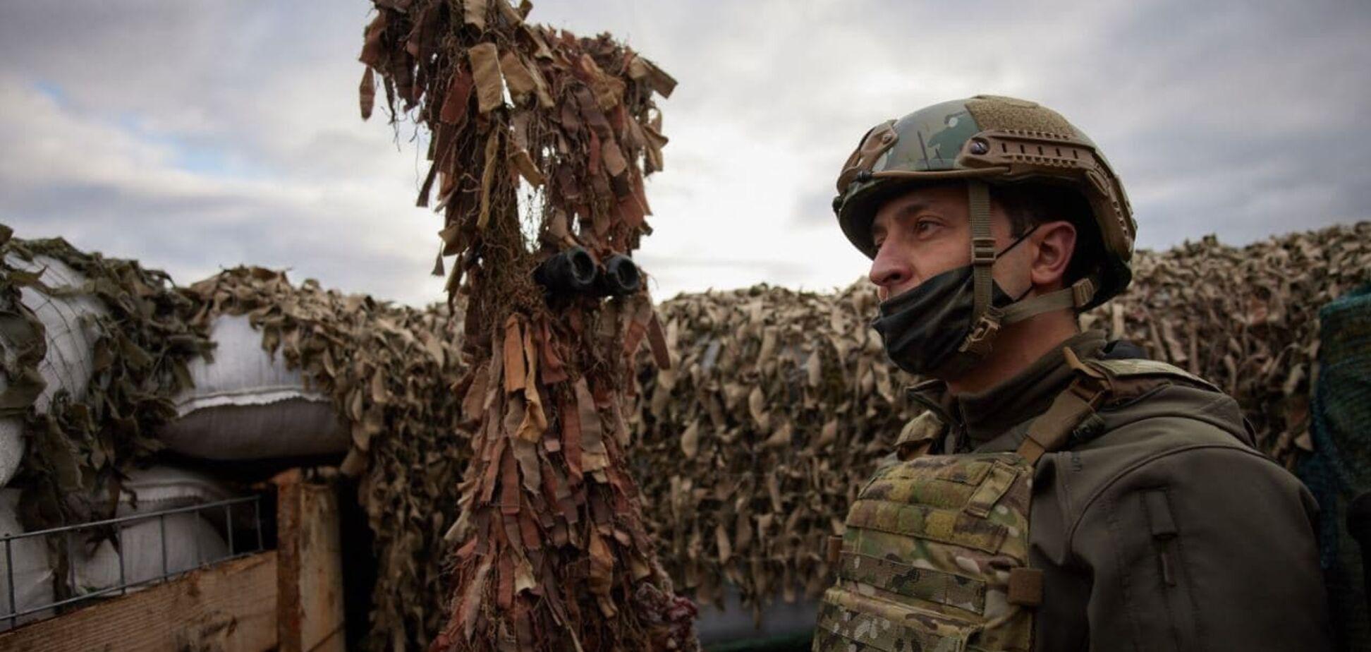 Зеленский рассказал о потерях на Донбассе во время перемирия