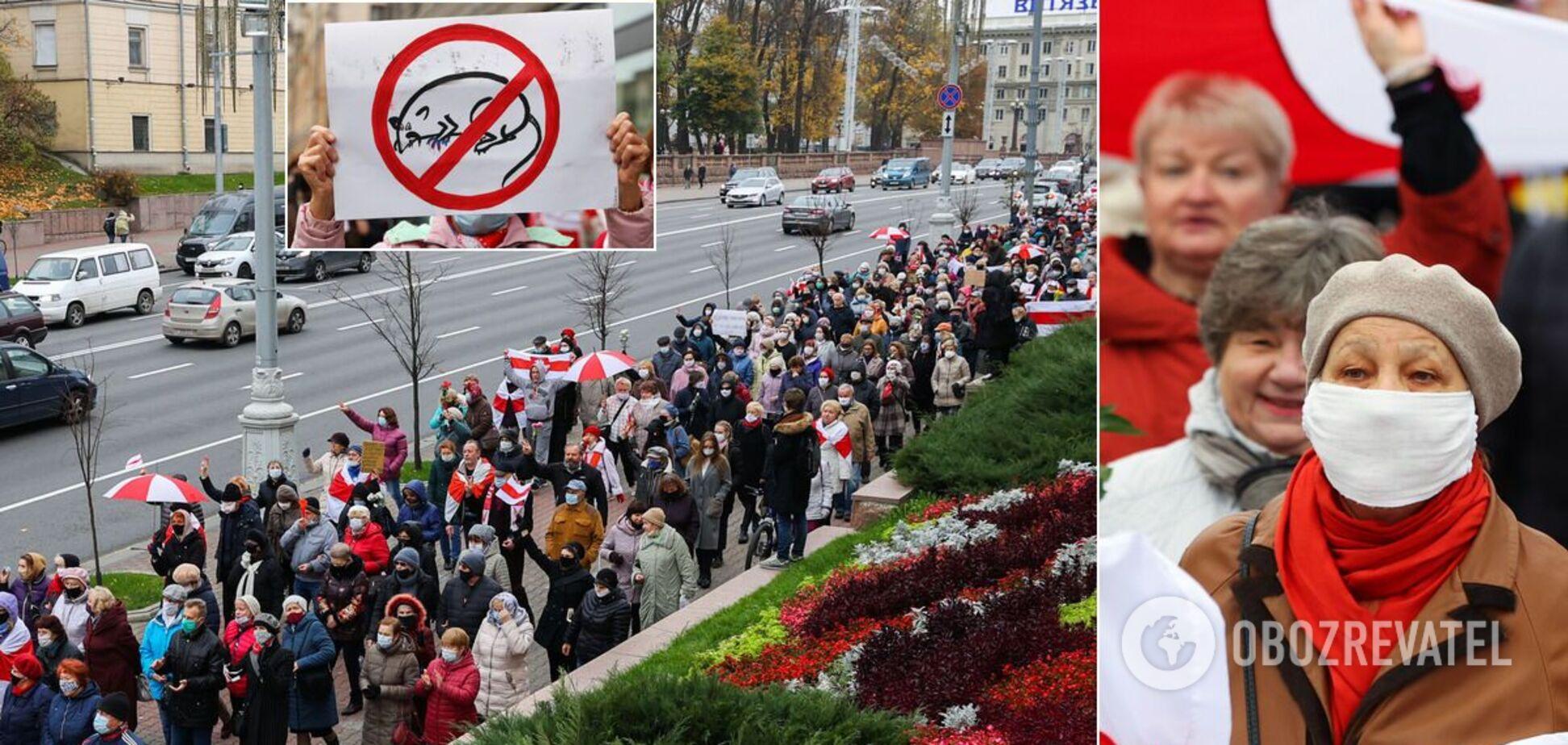 Білоруси протестують проти Лукашенка