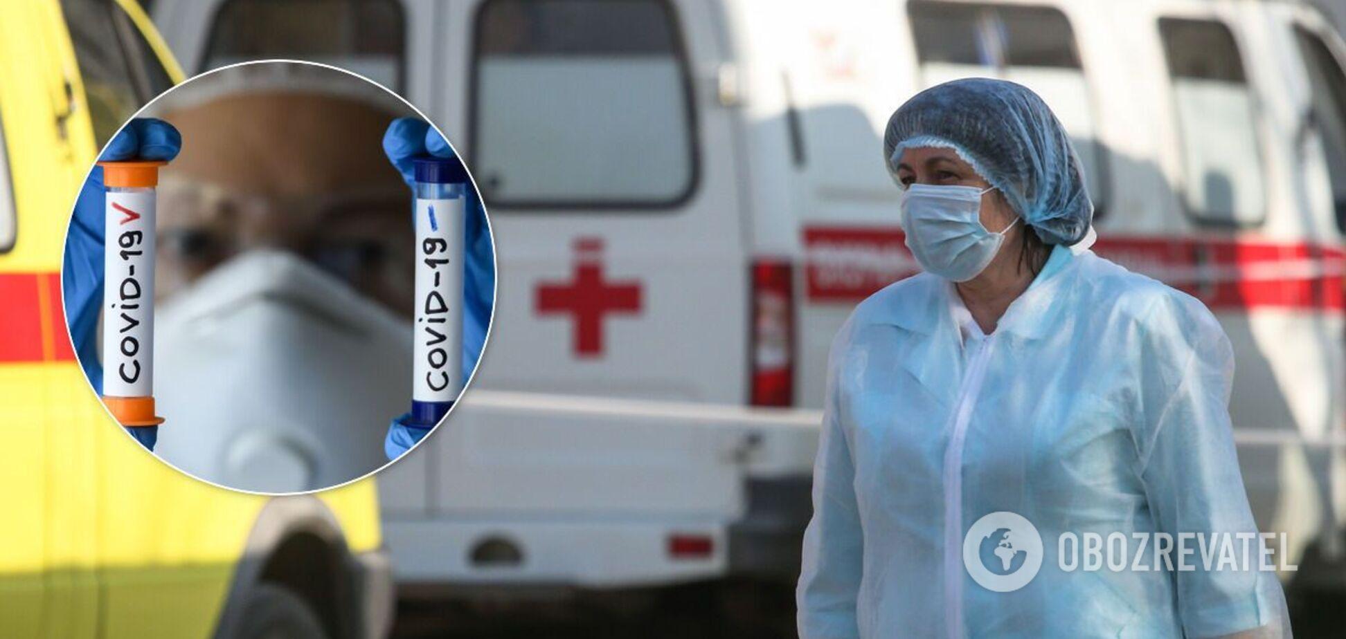Смертность от коронавируса в Украине