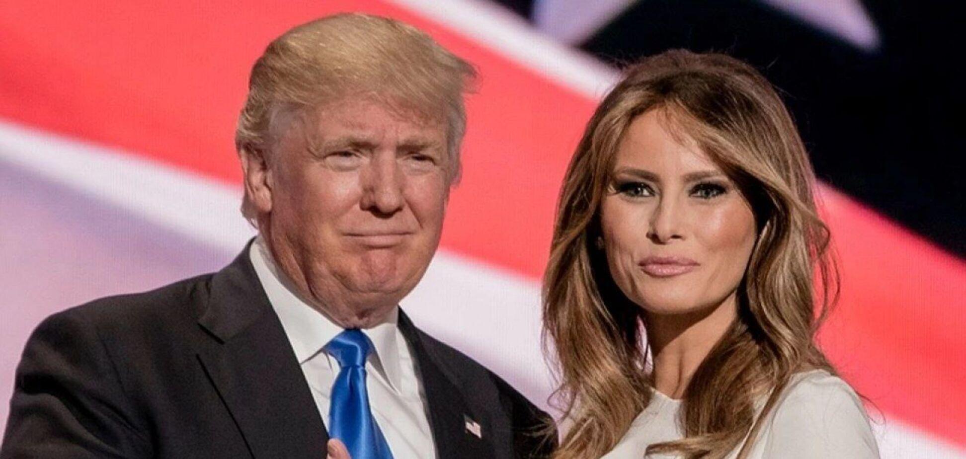 Что может получить Мелания Трамп после развода