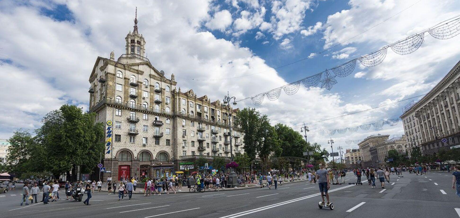 Крещатик был модным досугом для богачей: редкие фото торгового Киева