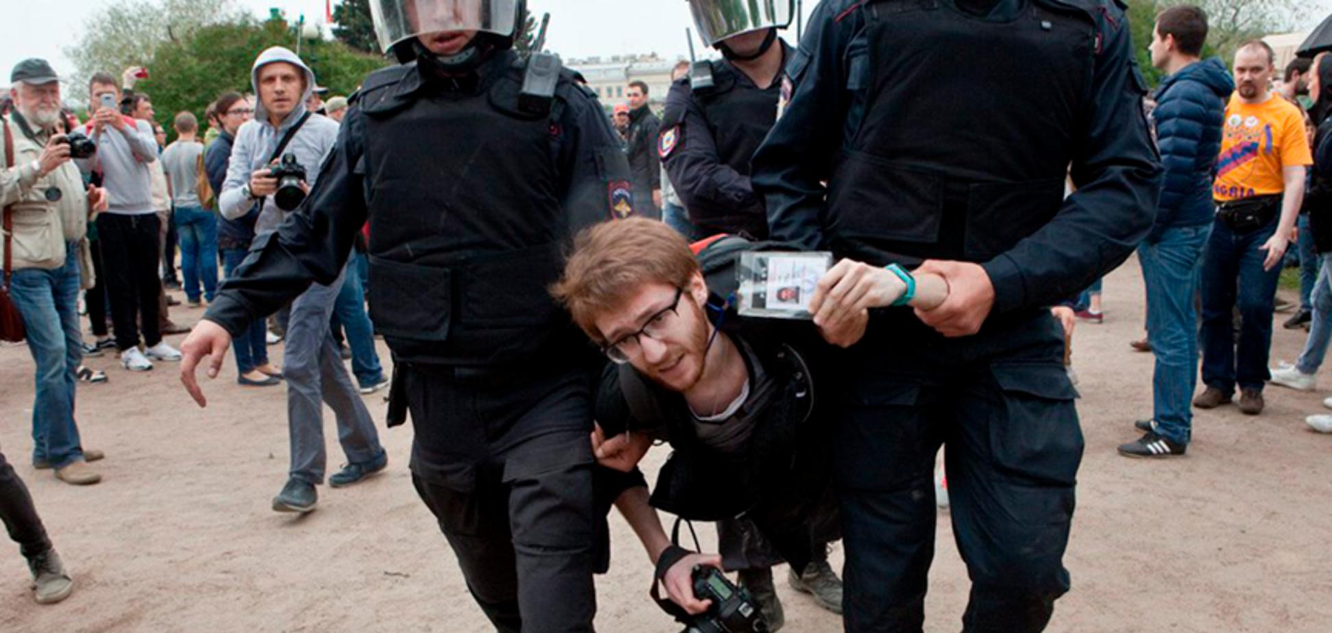 Задержание Давида Френкеля