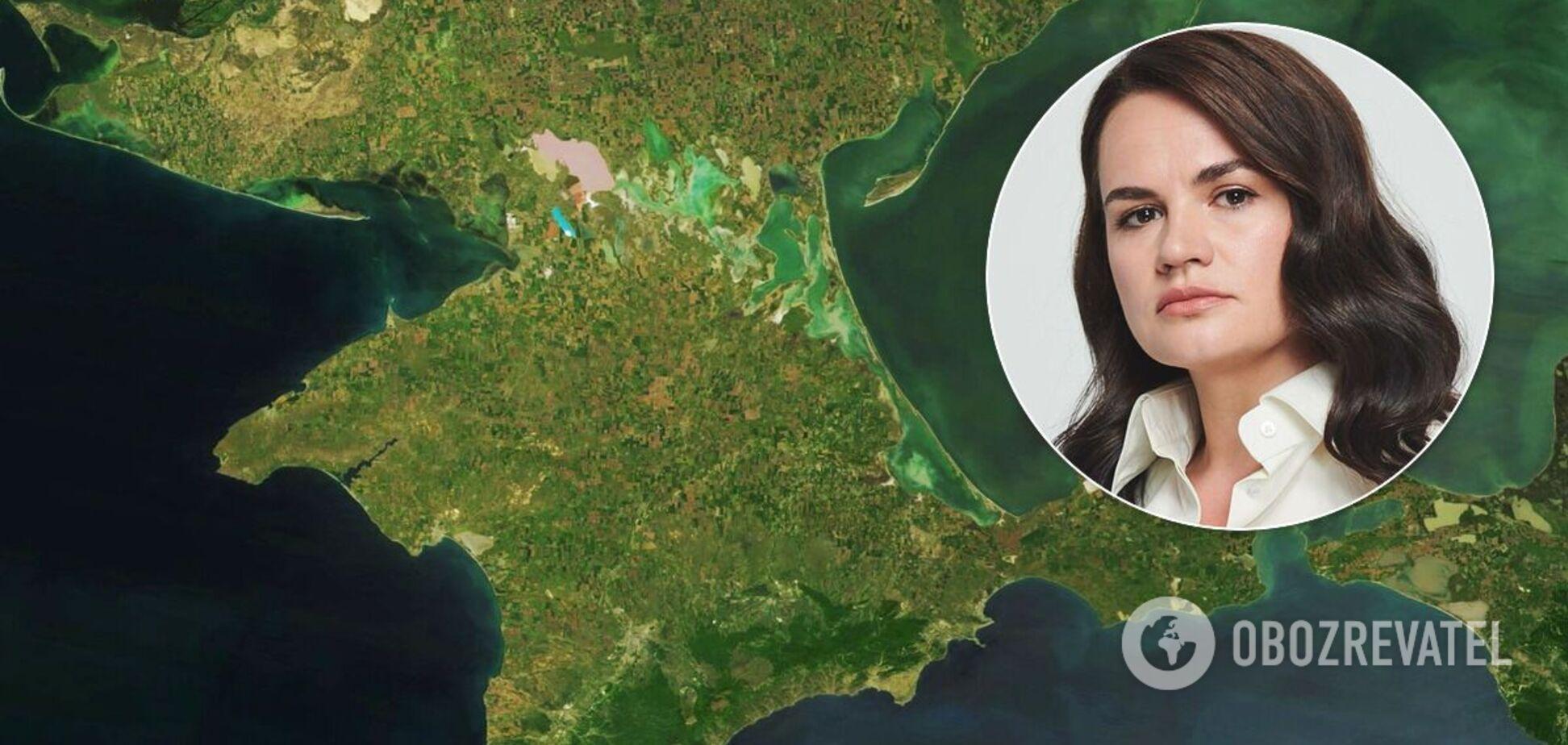 Тихановская ответила, чей на самом деле Крым