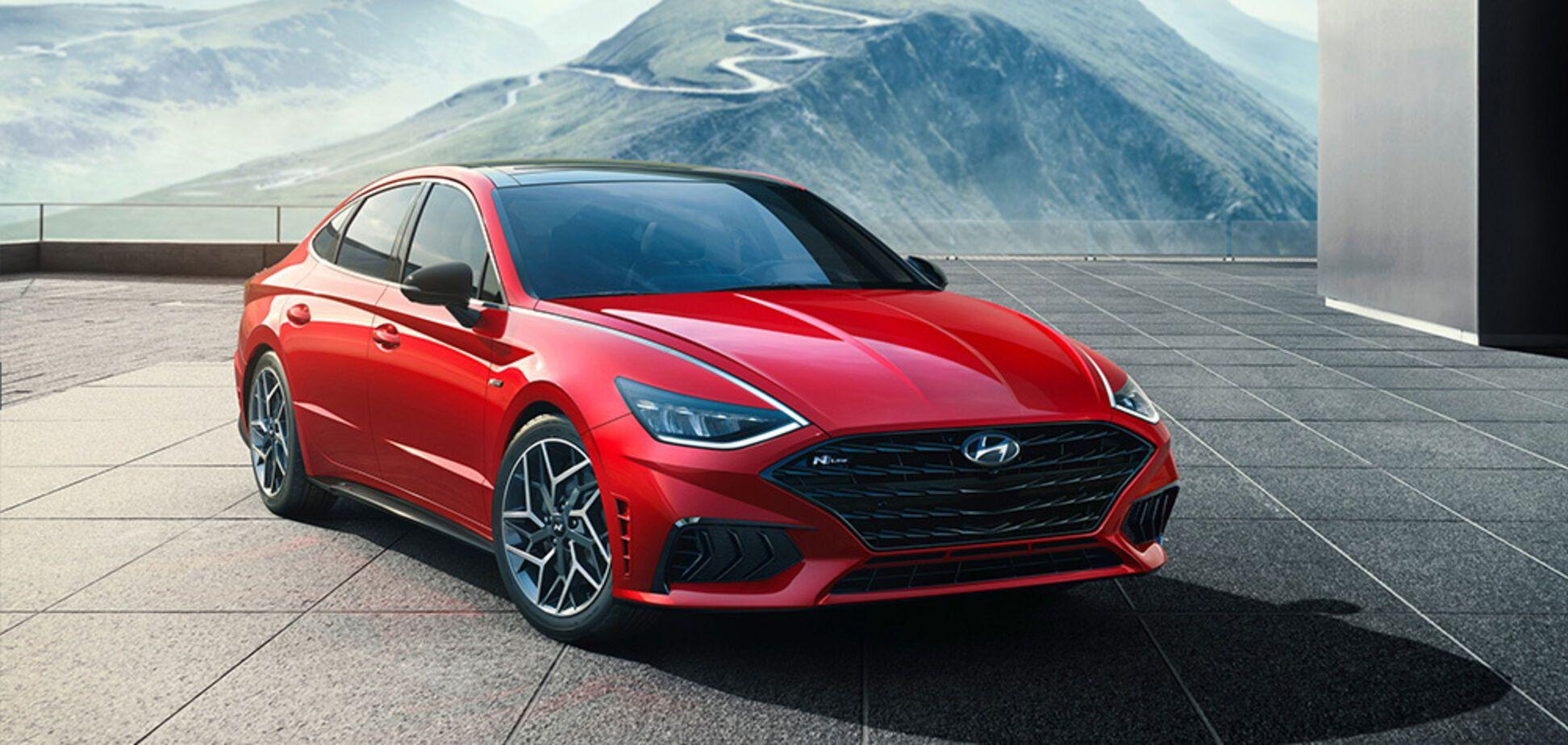 Hyundai презентовал спортивную версию Sonata N Line