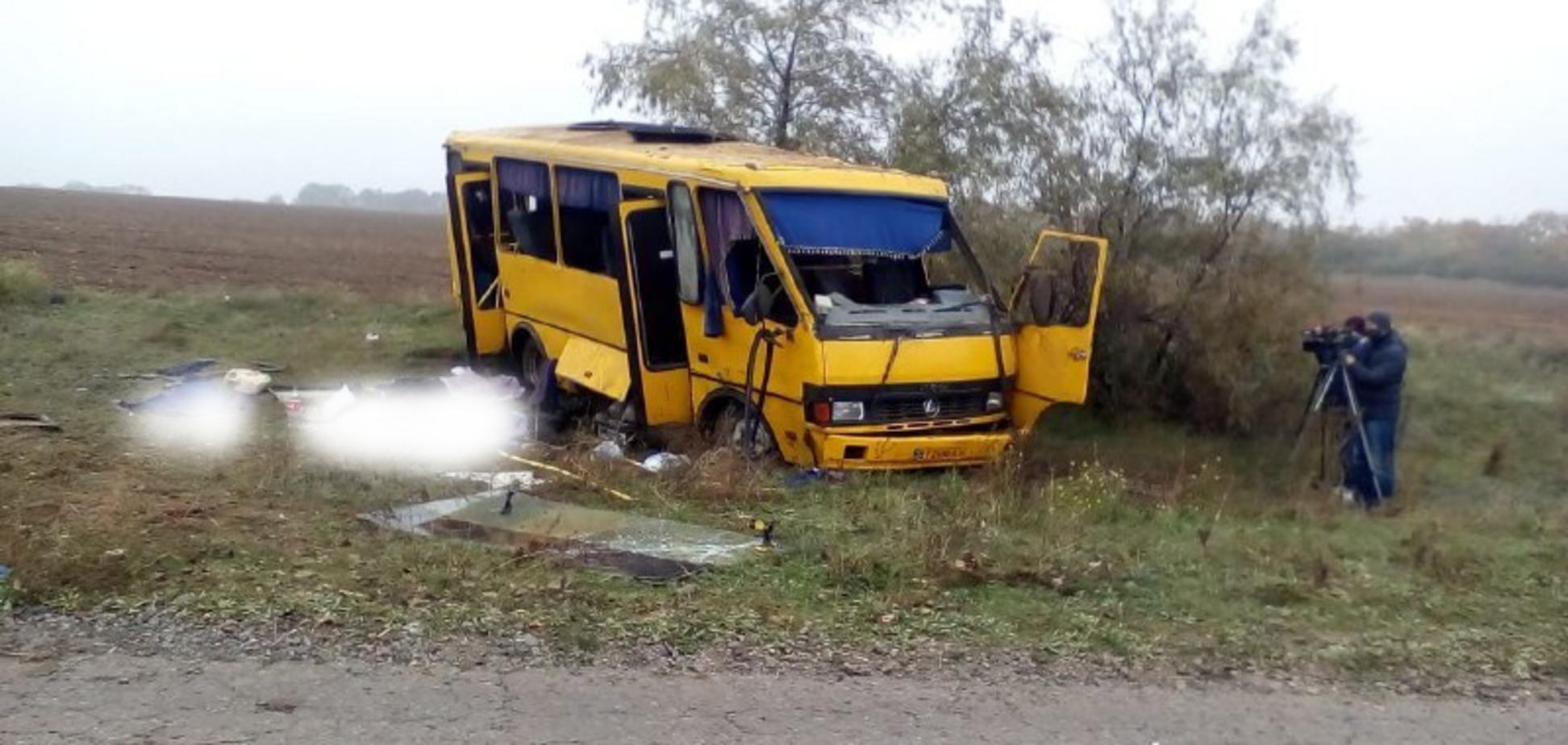 Полиция обнародовала видео с места смертельного ДТП на Херсонщине