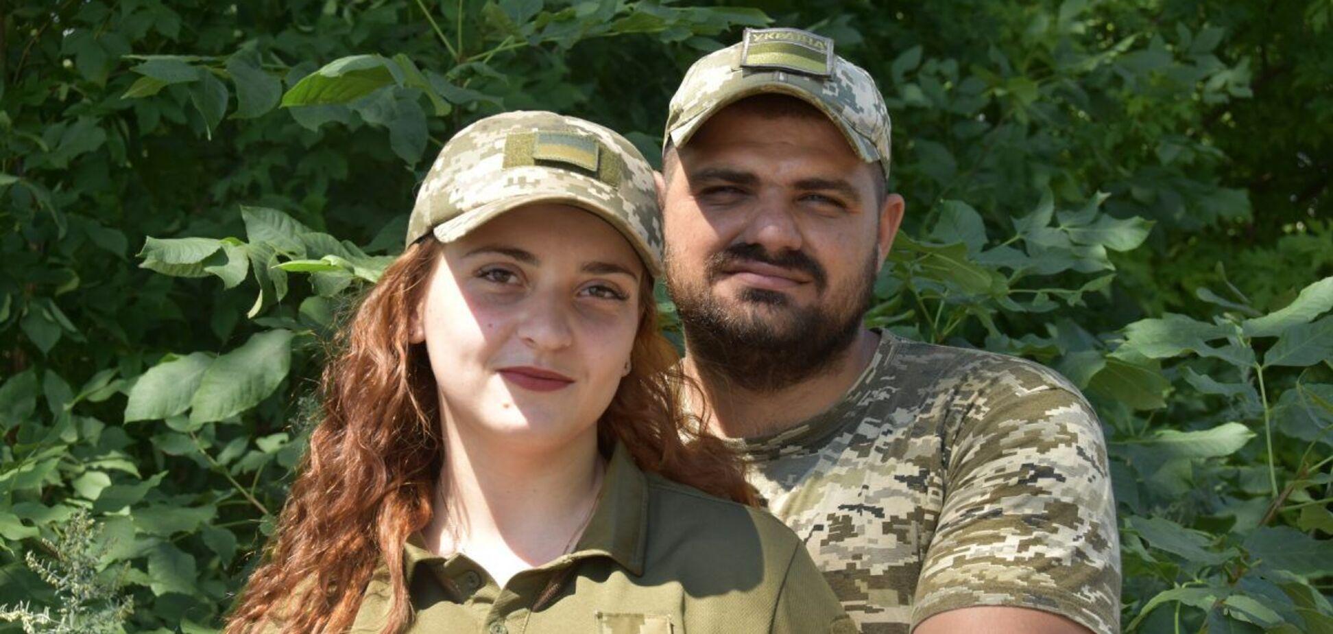 Супруги Руслан и Даниэла Гвоздецкие вместе служат в 93 ОМБр ВСУ