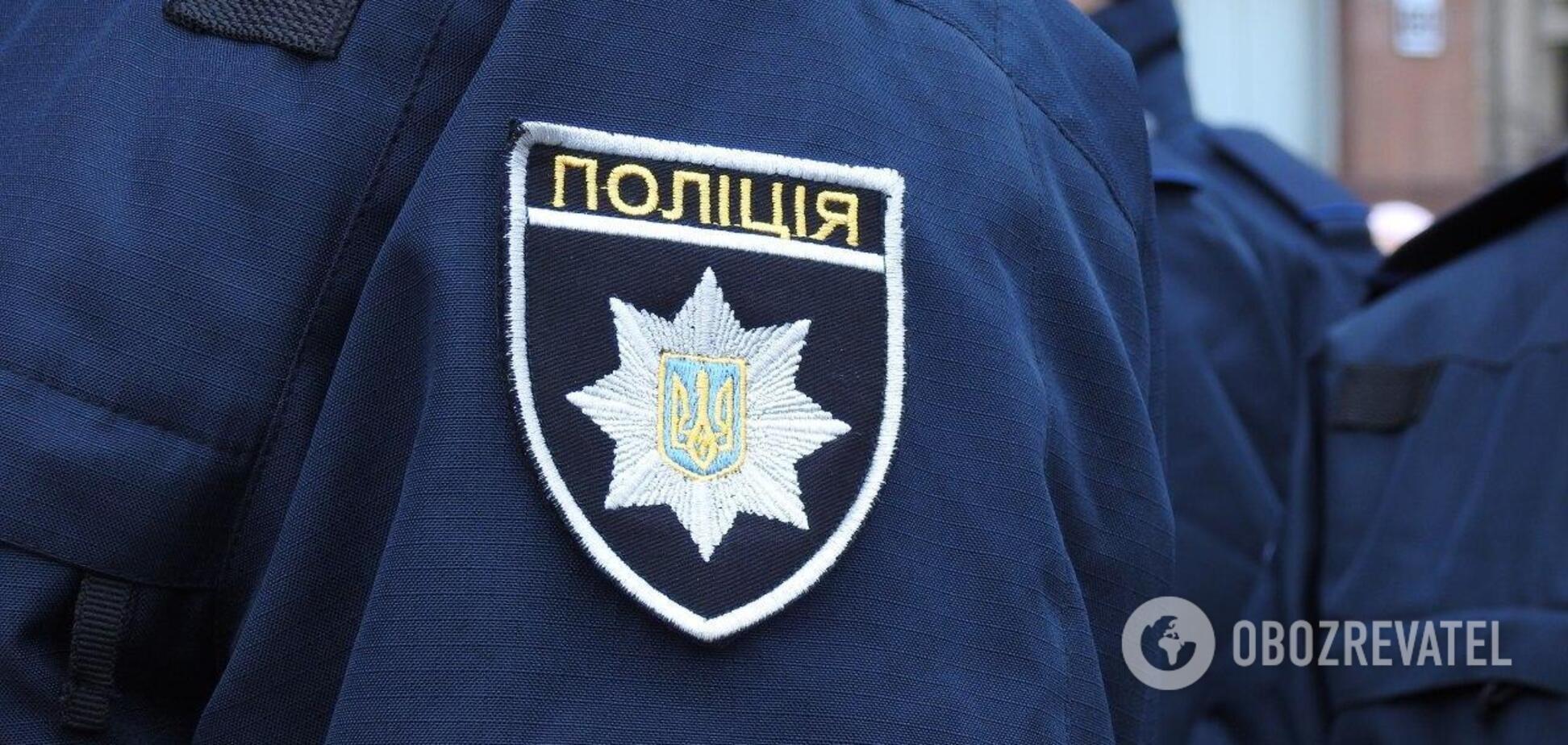 Полиция оперативно задержала злоумышленника