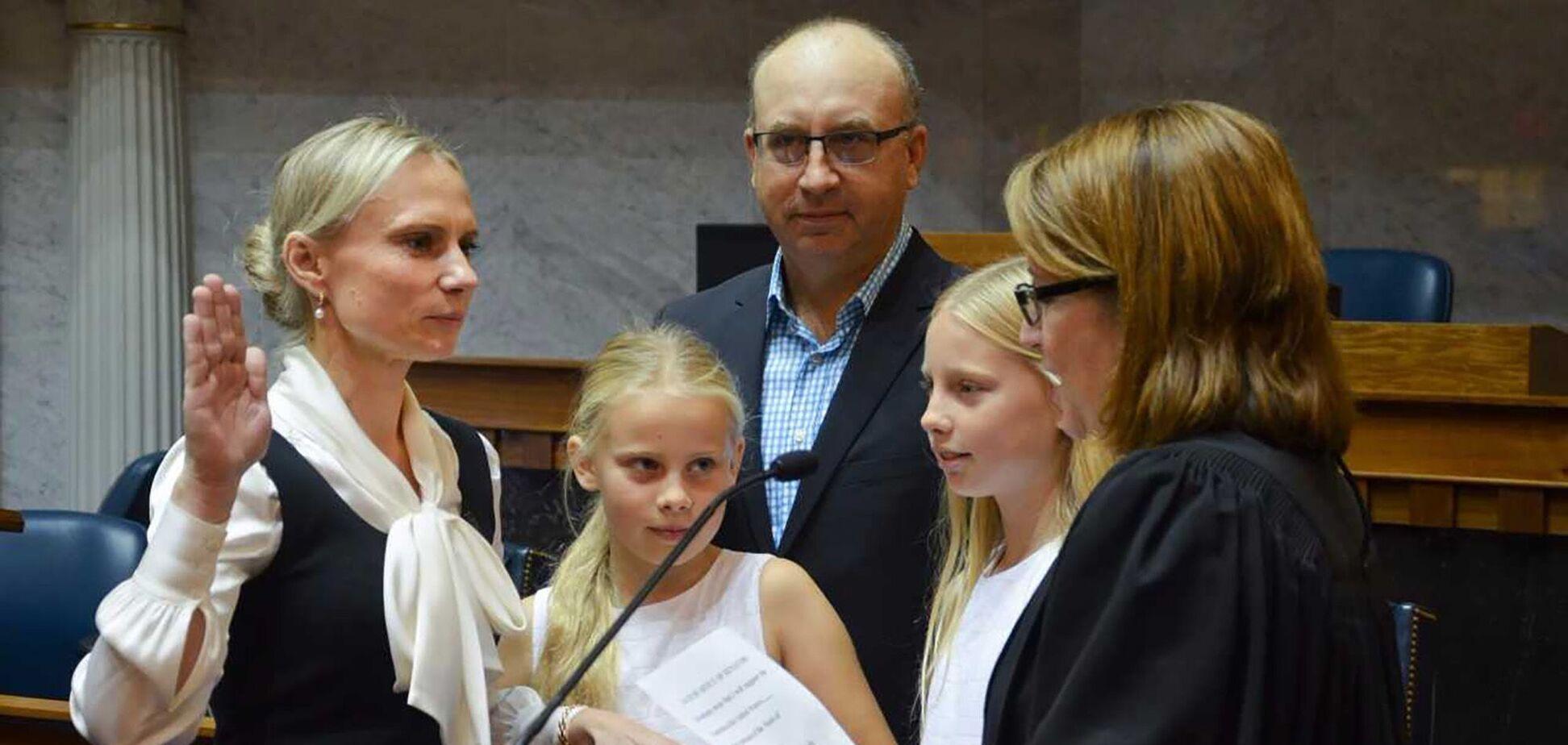 Украинка Спартц впервые в истории США стала конгресвумен