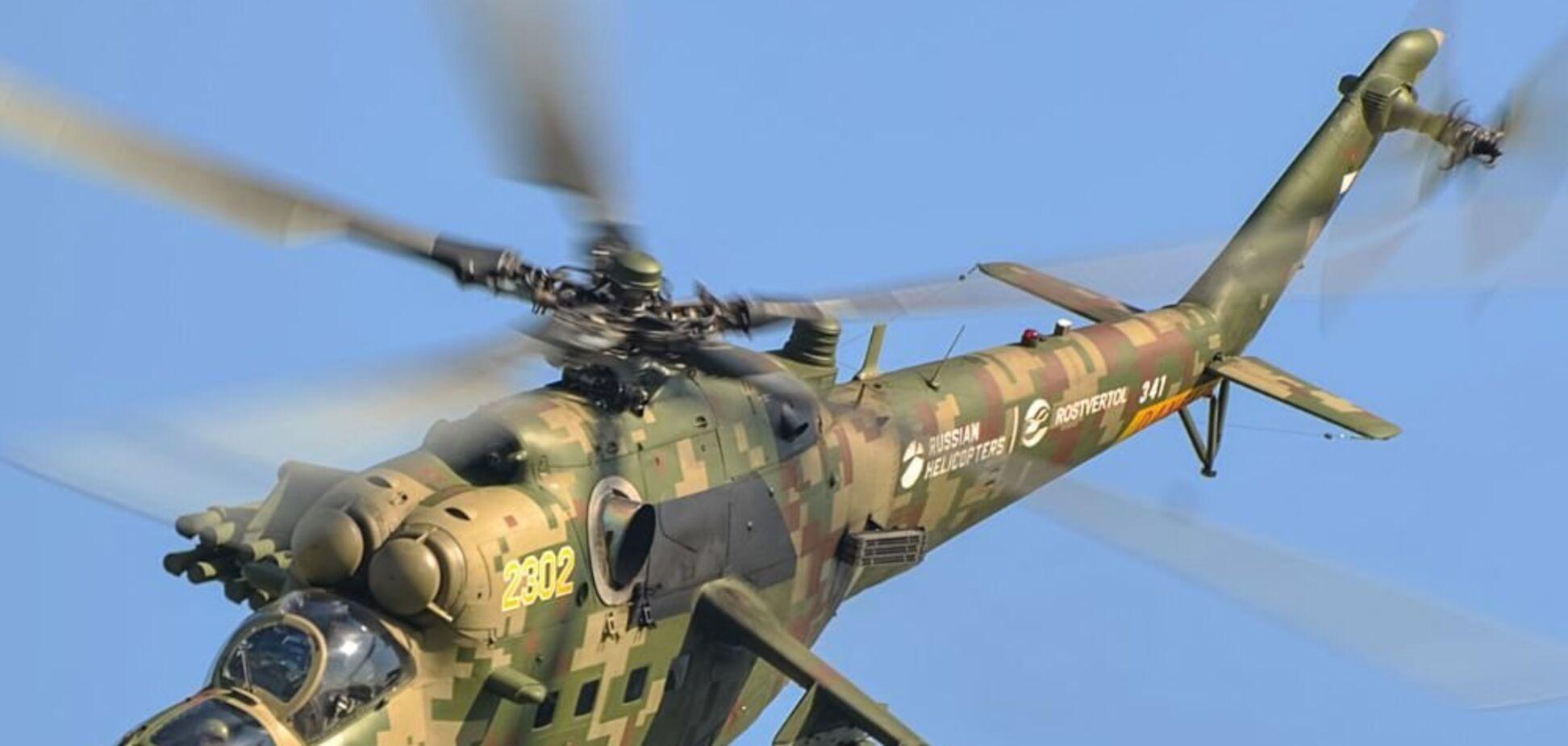 Российский вертолет сбит в Армении (иллюстрация)