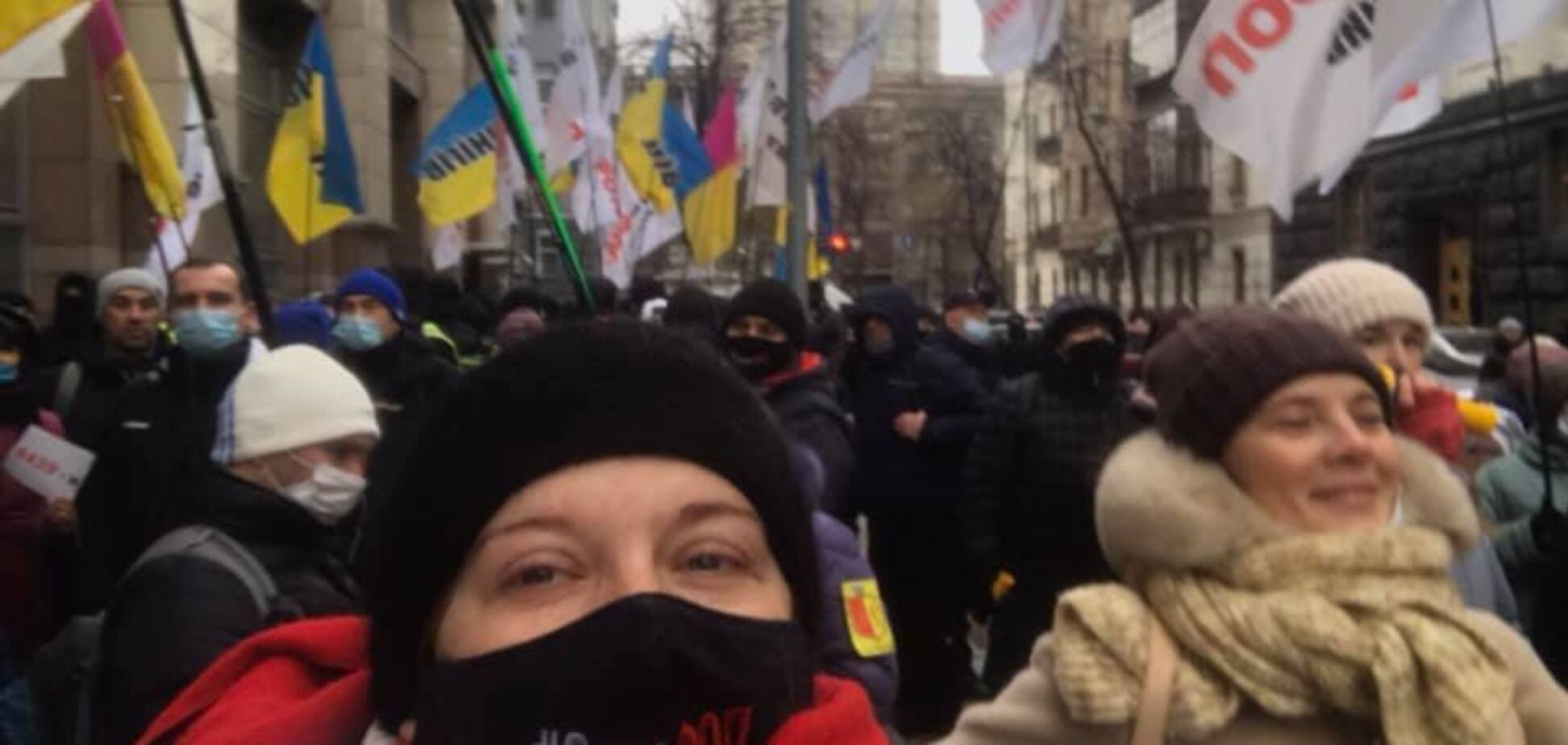 Предприниматели провели под Радой массовый митинг и пригрозили новыми протестами