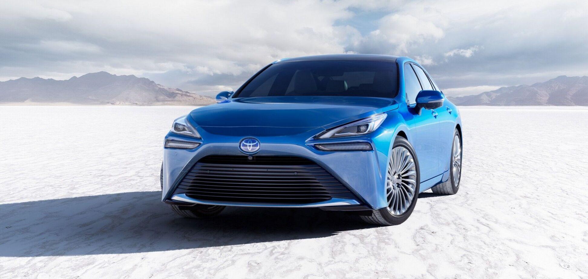 Toyota полностью рассекретила новый водородный электрокар с запасом хода 850 км
