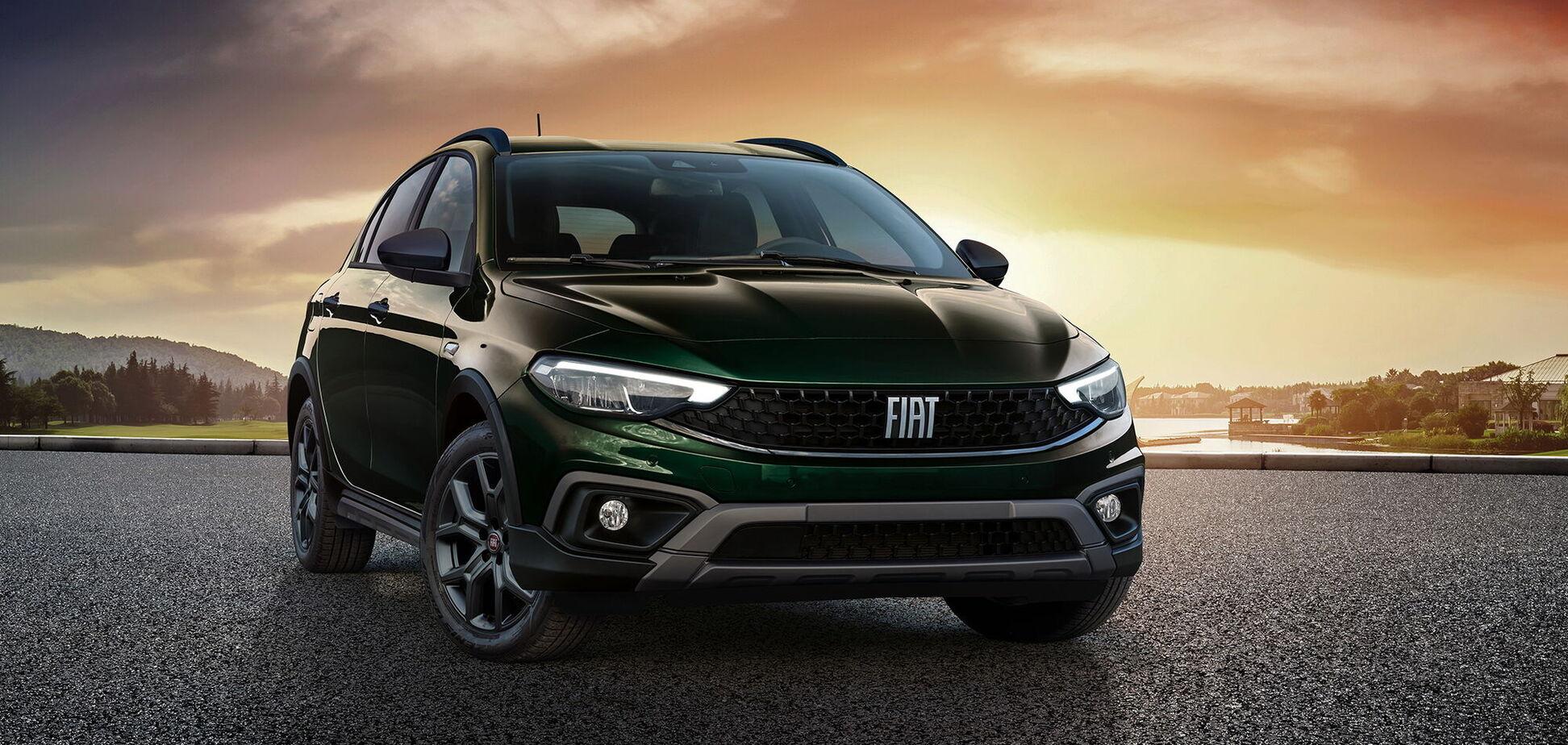 FIAT обновил модель Tipo и добавил новую версию Cross