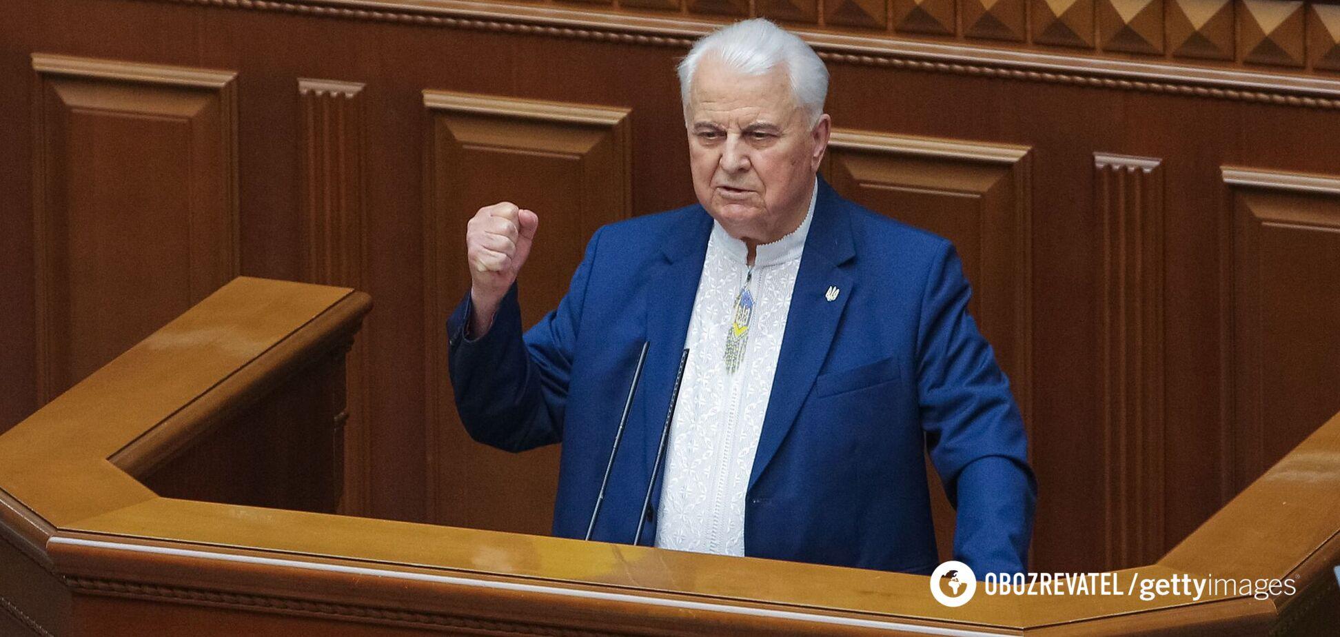 Кравчук в ТКГ изменил позицию относительно России
