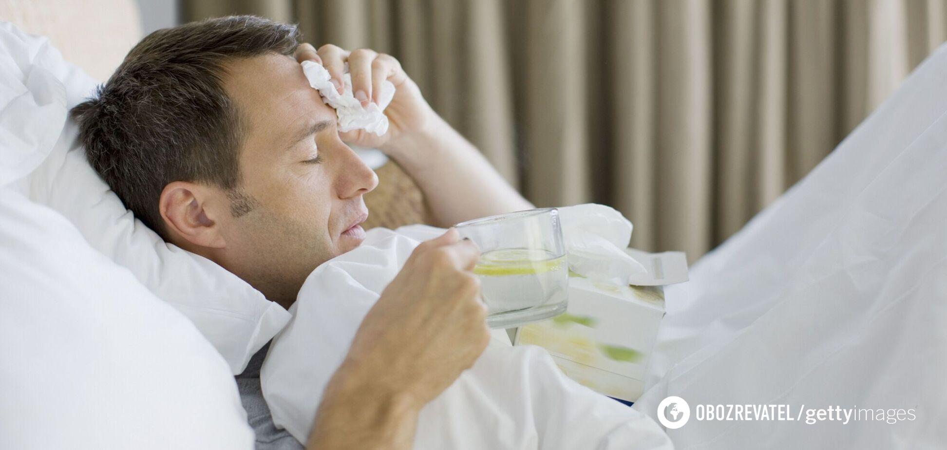 Хворий із коронавірусом