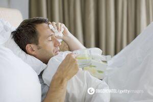 Больной с коронавирусом