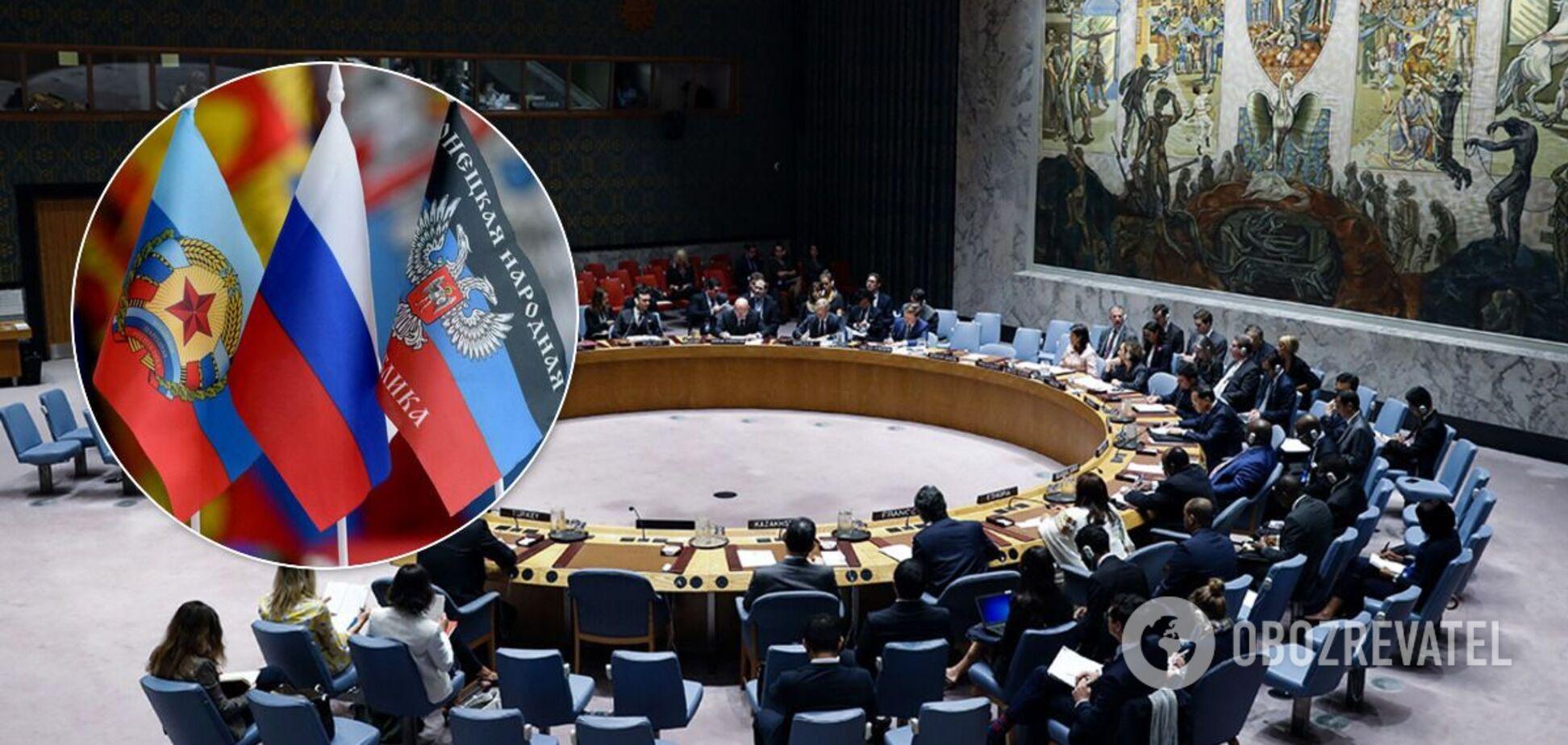 У Радбезі ООН засудили провокацію Росії з терористами