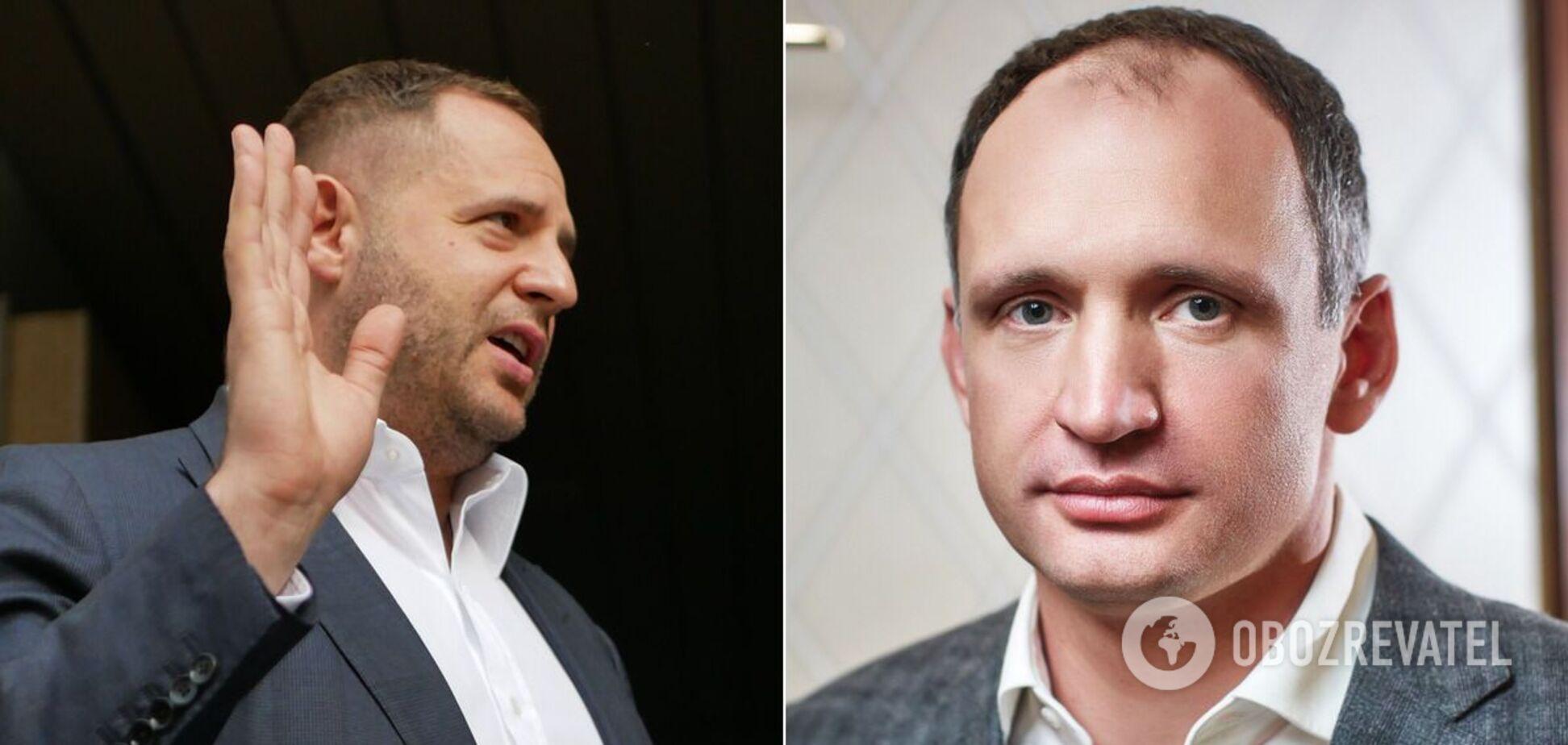 Андрій Єрмак і Олег Татаров