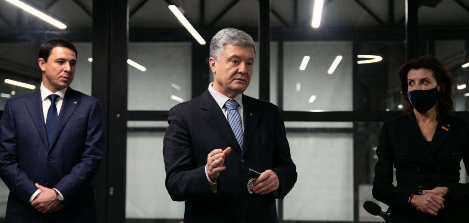 Порошенко поздравил фракцию 'ЕС' с началом работы в Киевсовете