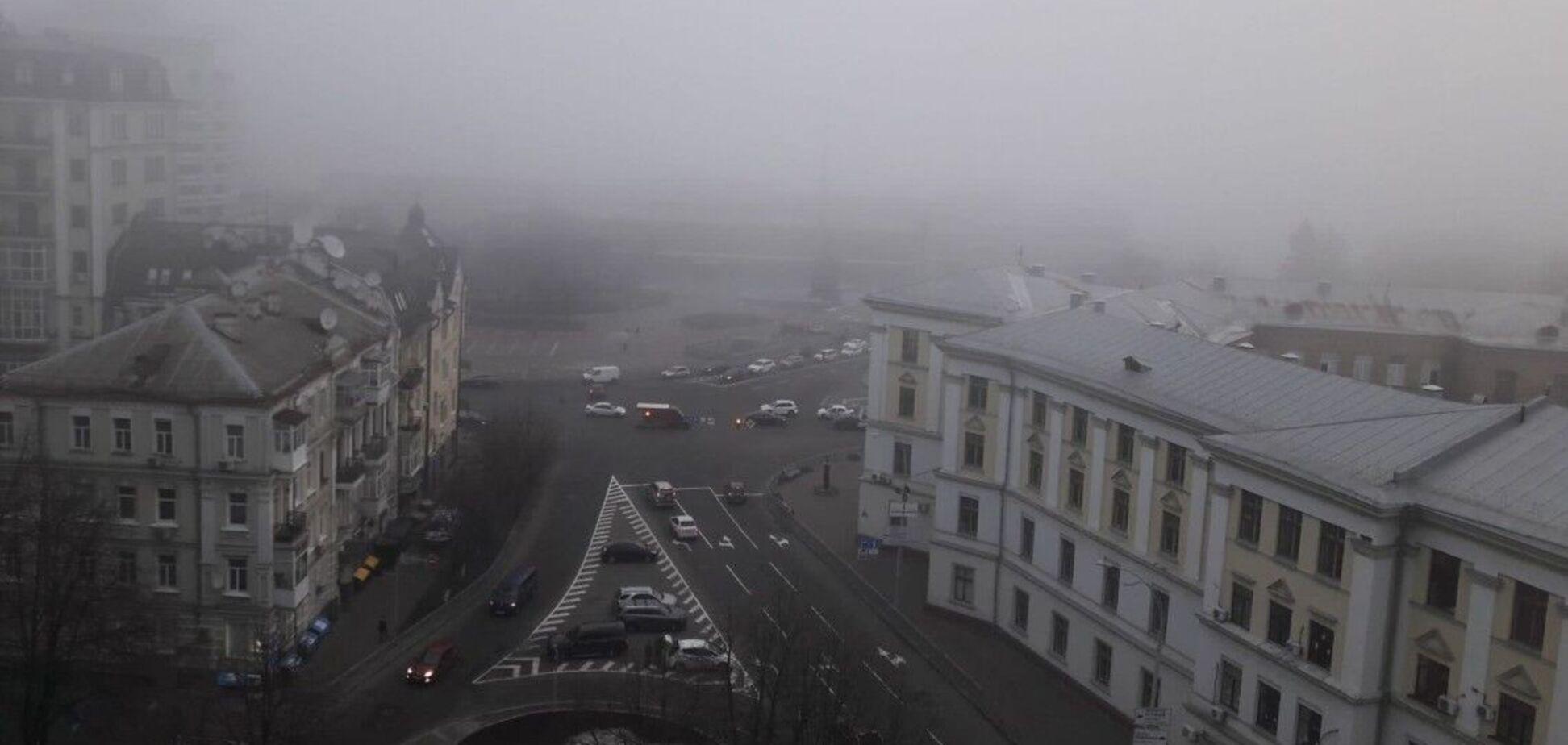 Загрязненность воздуха в Киеве