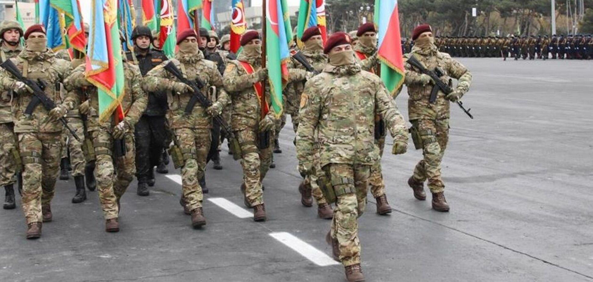 У столиці Азербайджану Баку пройшов парад перемоги з нагоди перемоги в Нагірному Карабасі