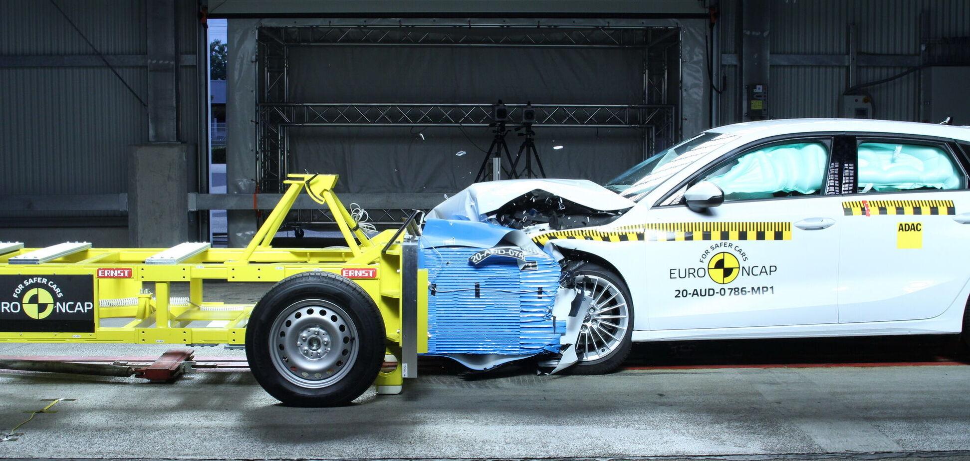 Euro NCAP провела фінальну серію краш-тестів – результати