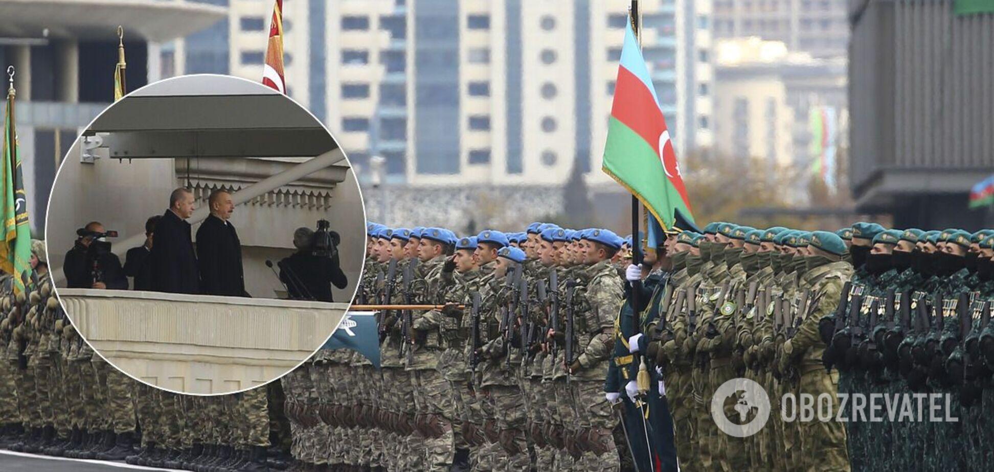 У Баку пройшов парад перемоги