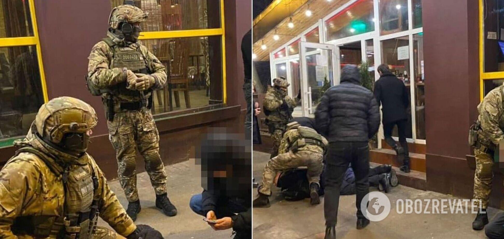 Спецоперация по задержанию похитителей людей