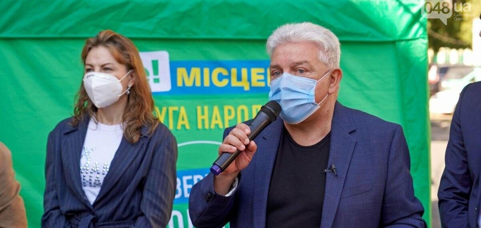 Найстарший депутат в Одесі Філімонов заразився коронавірусом
