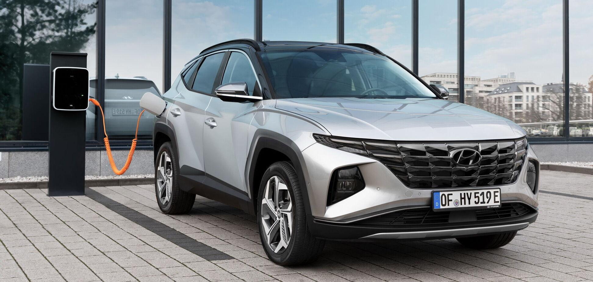 Hyundai раскрыл секреты нового Tucson PHEV