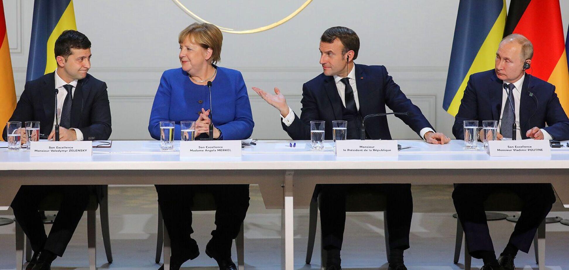 9 декабря в Париже прошли переговоры в нормандском формате