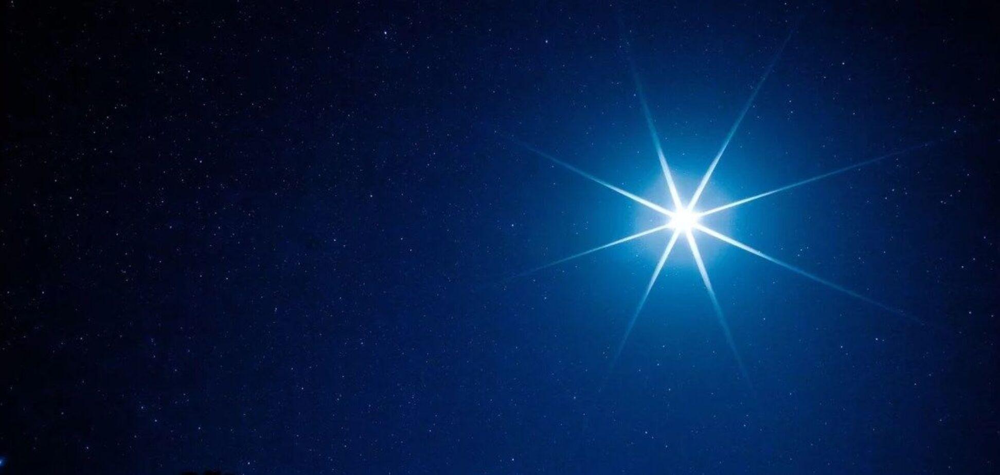Земляне впервые за 800 лет смогут увидеть 'Вифлеемскую звезду'
