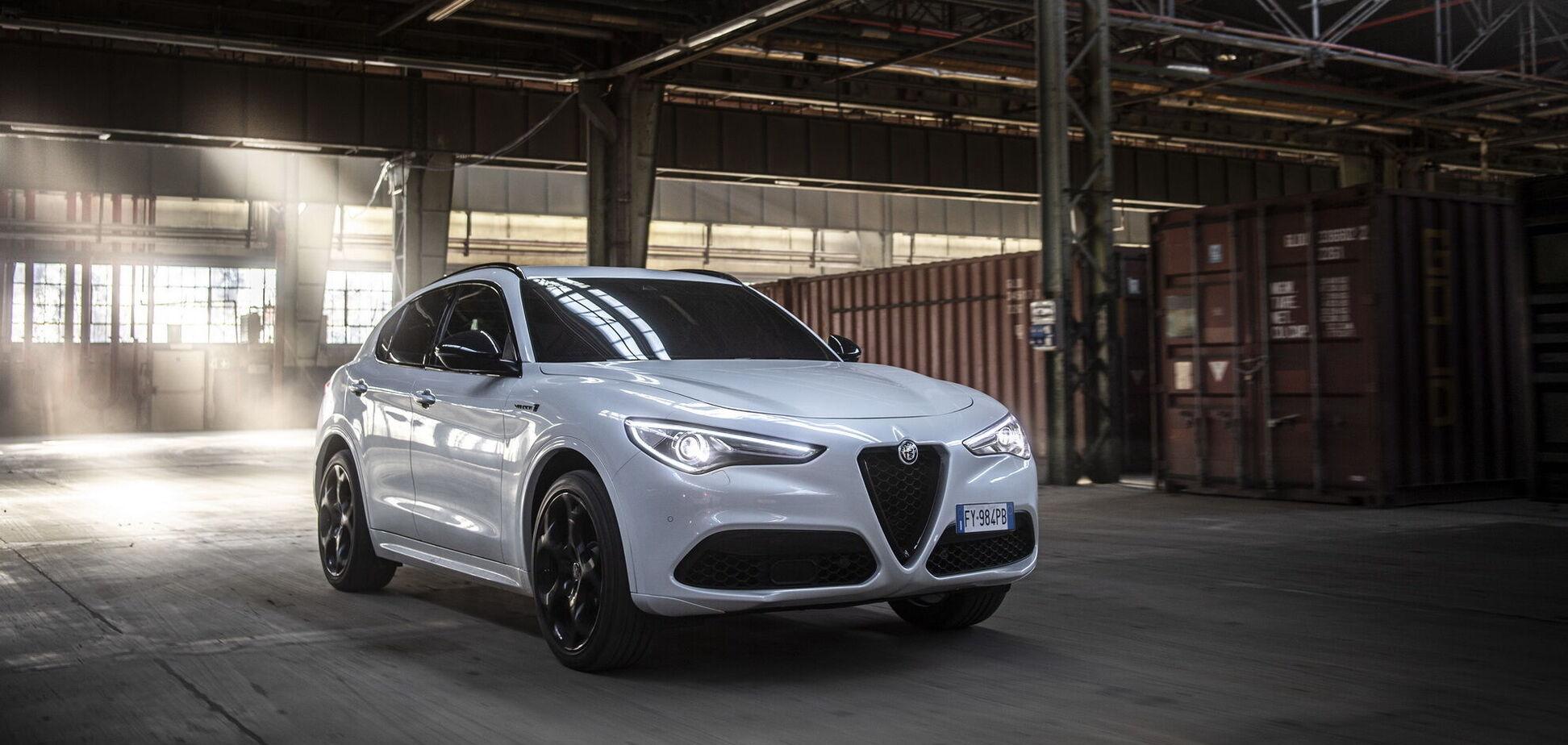 Alfa Romeo Stelvio отримав спортивну версію Veloce Ti