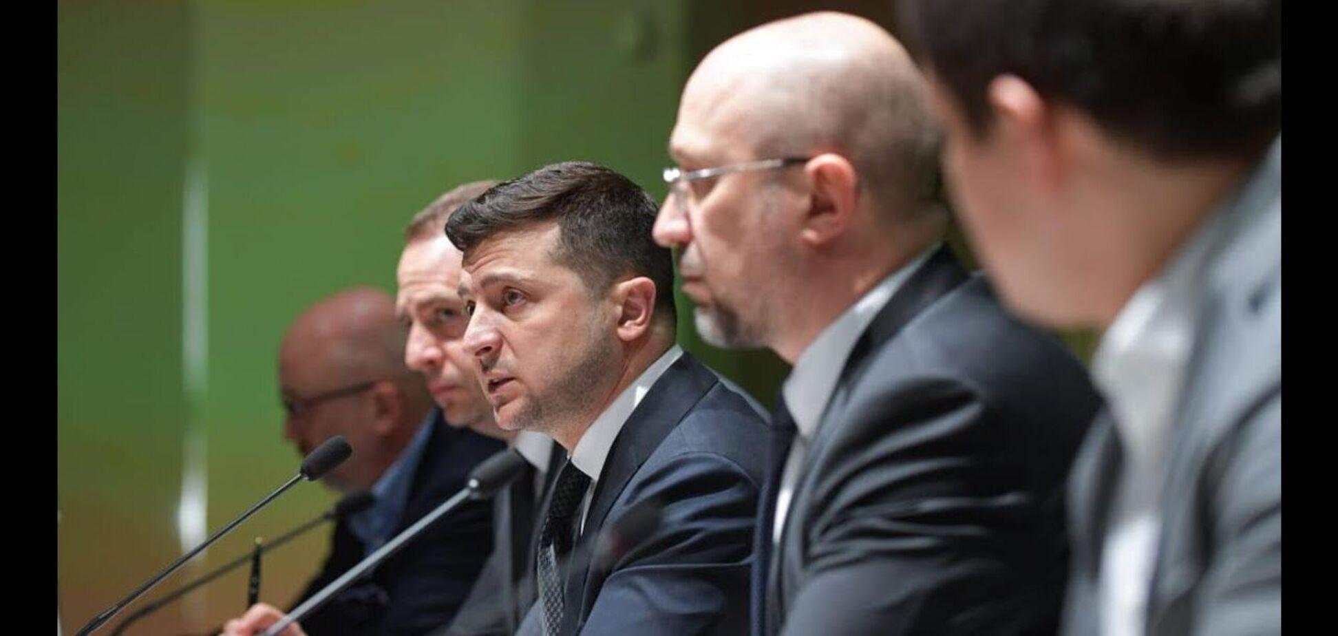 Зеленський назвав Україну інвестиційною гаванню, а Шмигаль пообіцяв топове місце в Doing Business