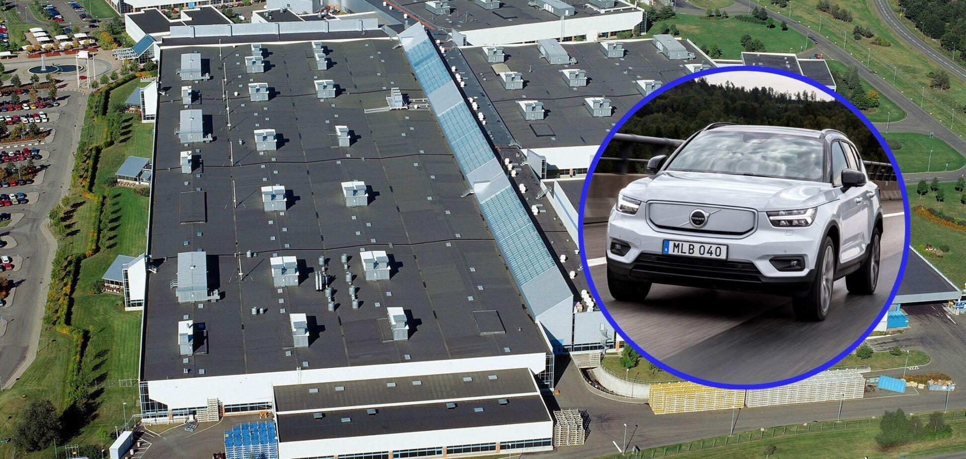 Volvo будет выпускать в Швеции собственные электродвигатели