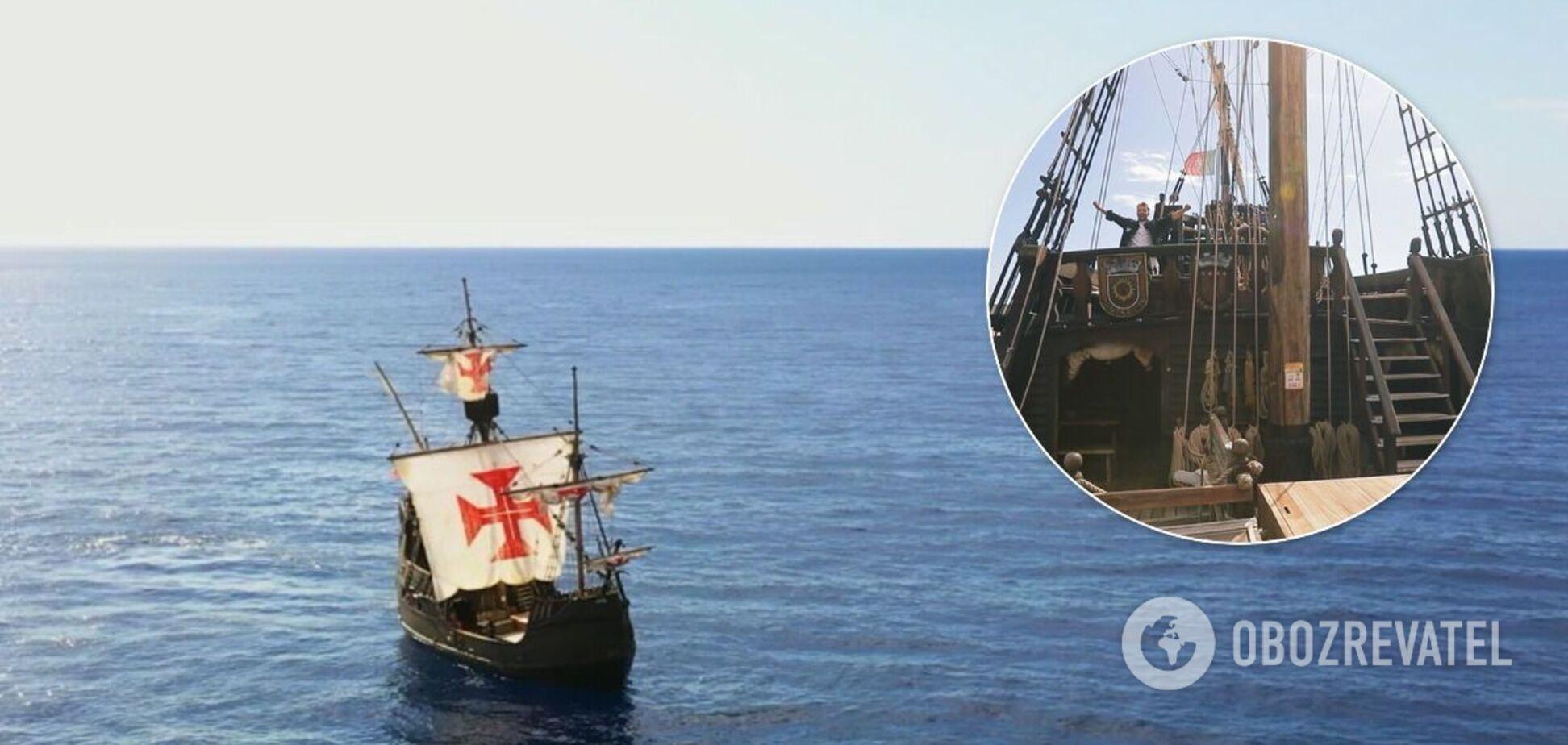Корабель Колумба на Мадейрі