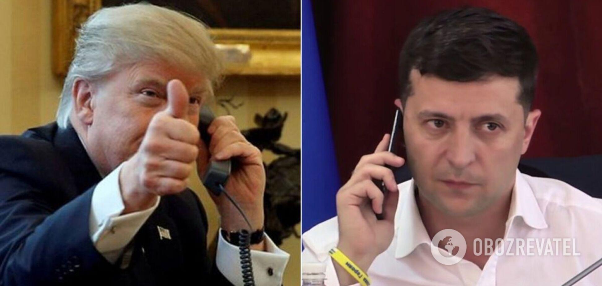 Трамп считает разговор с Зеленским даже лучше, чем 'идеальным'