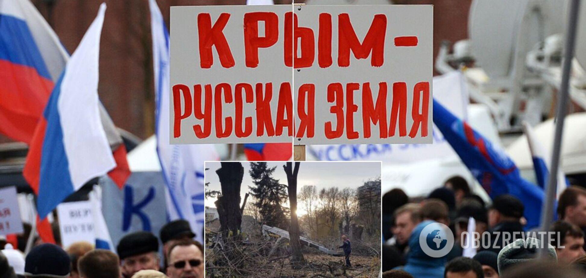 У Криму масово вирубали дерева у містах: фото до окупації і після
