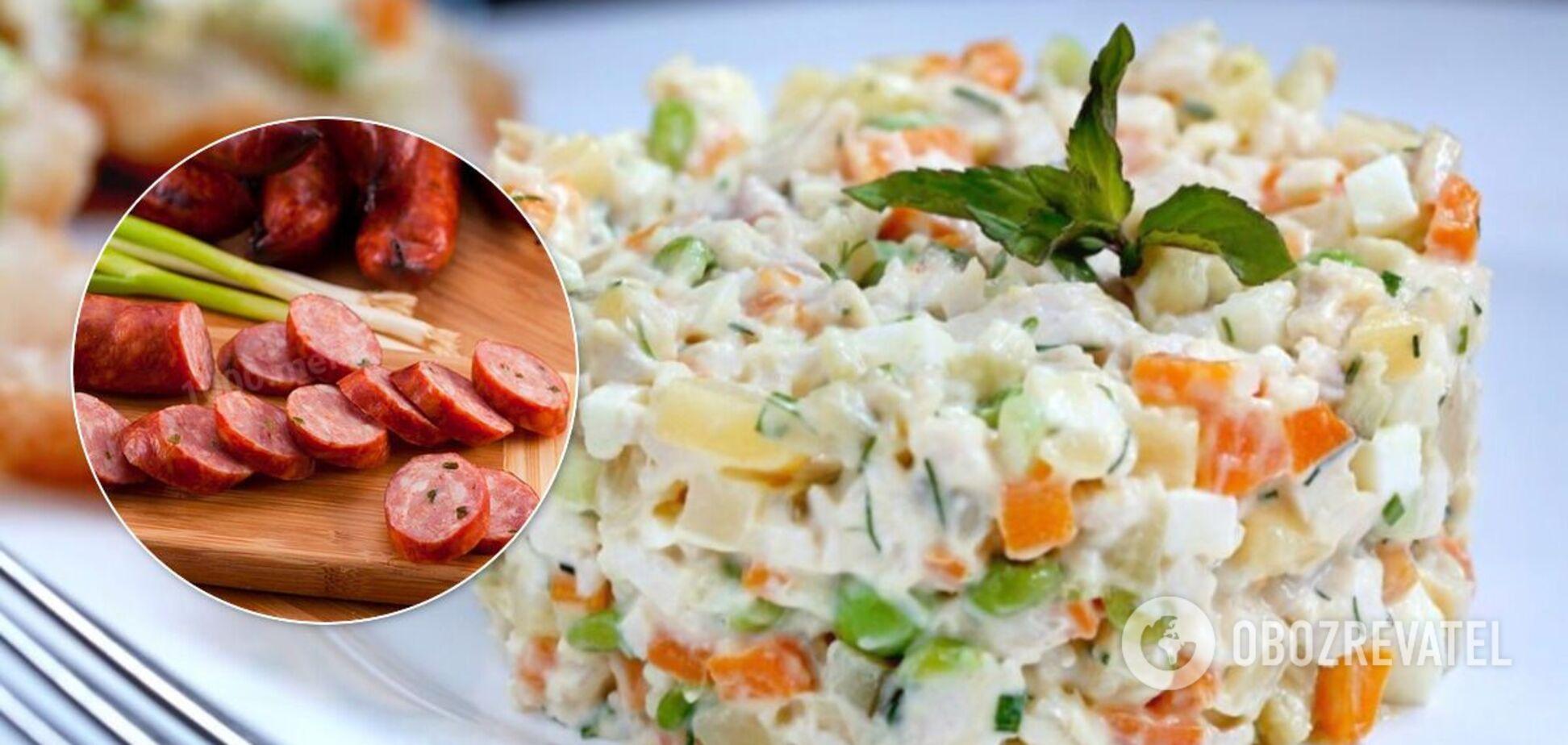 Експертка з якості продуктів назвала інгредієнт, який краще викинути із салату 'Олів'є'