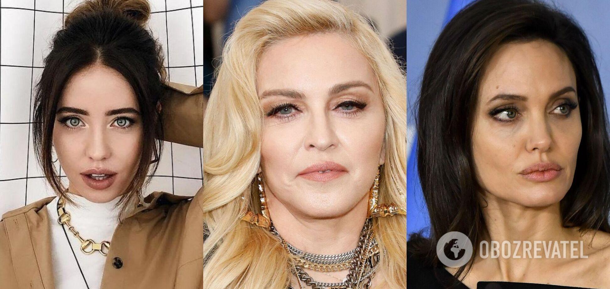 Дорофєєва, Мадонна і Джолі показали свої екзотичні тату: що вони означають