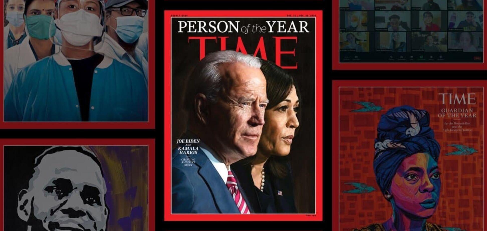 Журнал Time дав звання 'Людина року' Байдену і Харріс