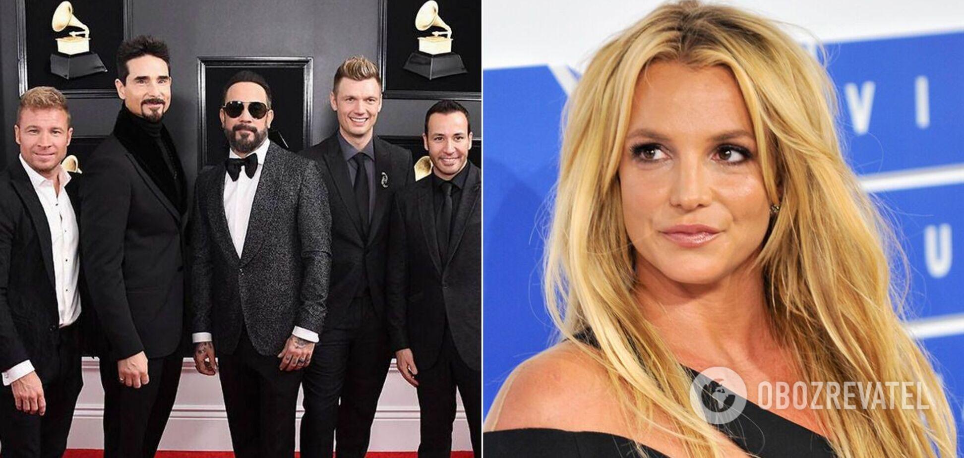 Брітні Спірс випустила пісню з легендарними Backstreet Boys