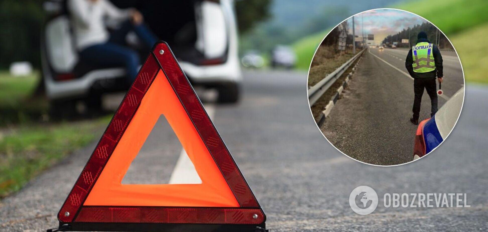 Поліція закликала водіїв бути уважними на дорогах