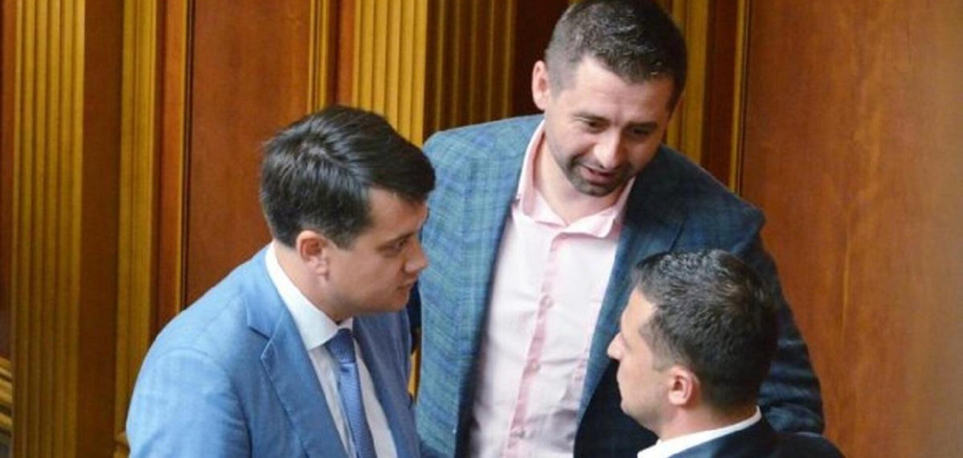 'Слуги народа' попали под российские санкции