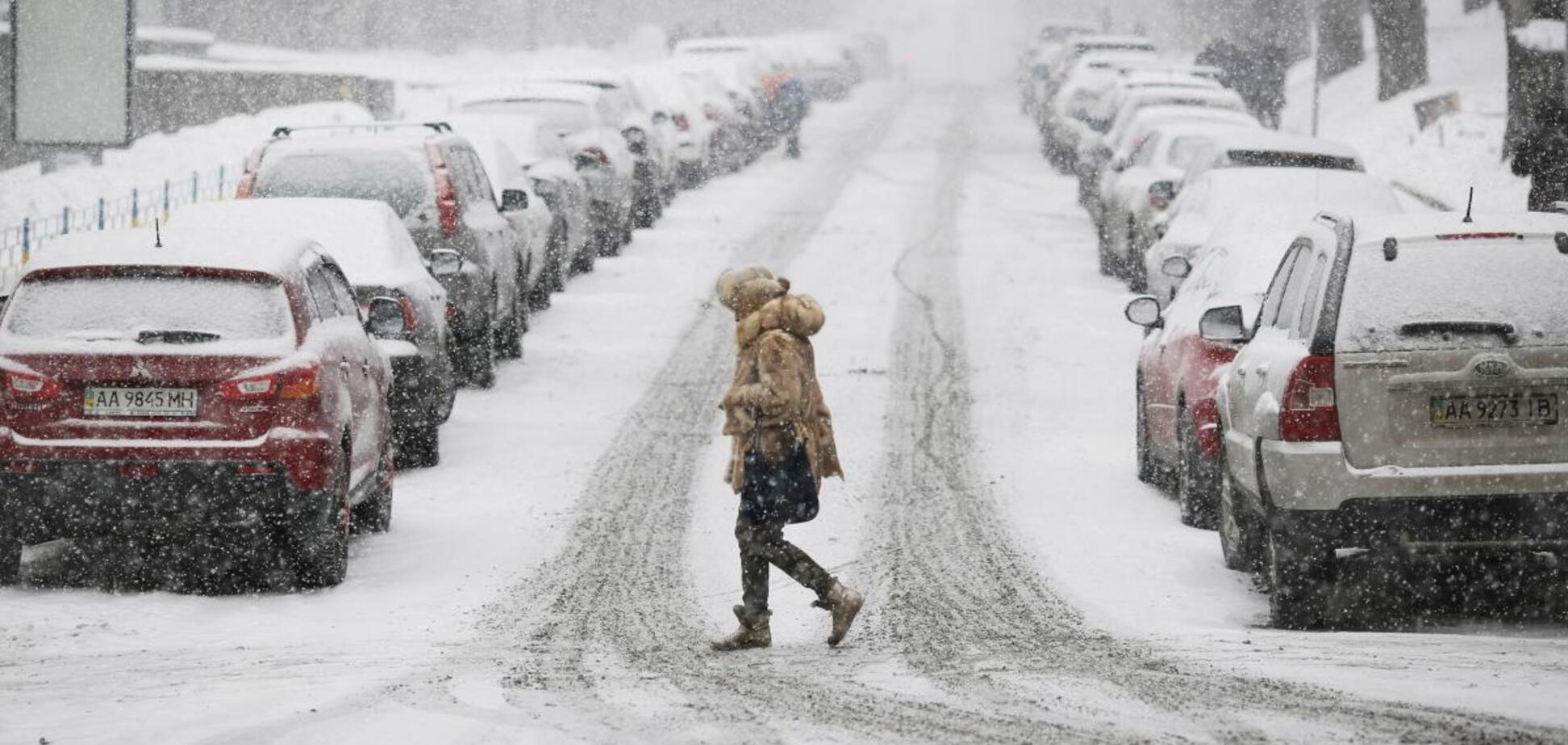 Зима удивит Украину снегом, - синоптик