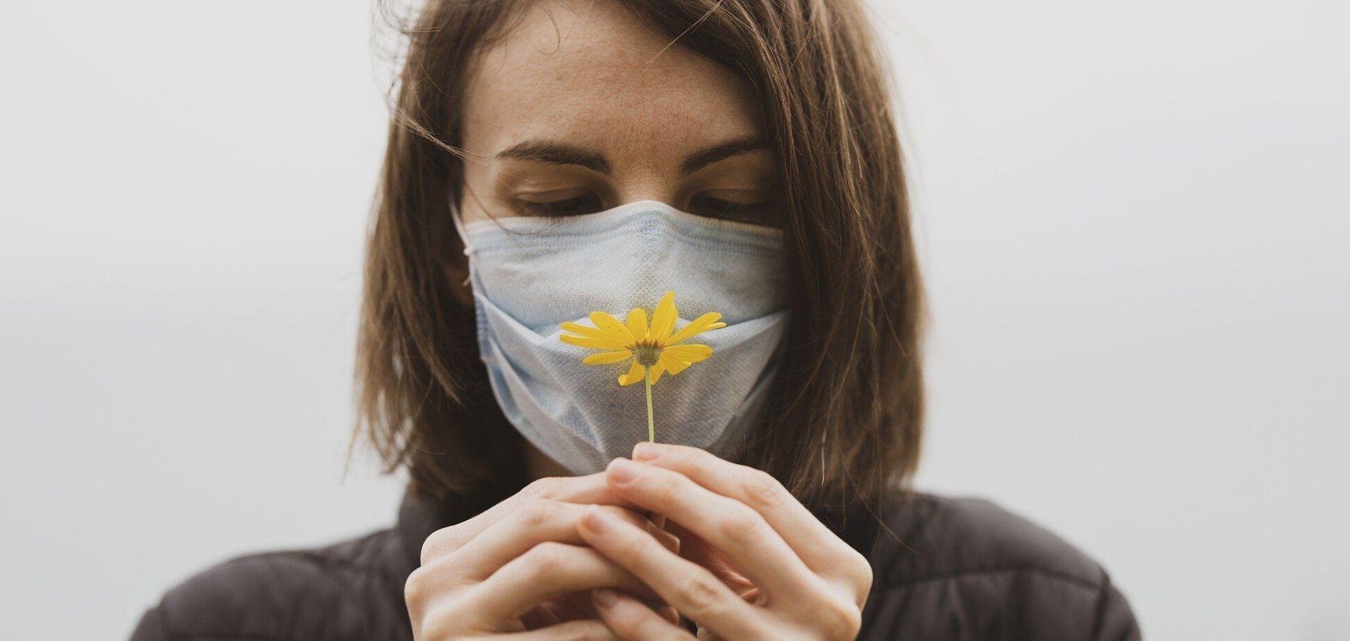 Чим небезпечна втрата нюху при коронавірусі